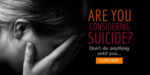 Are you considering suicide