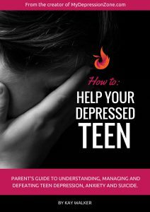 book for parents to help depressed teen